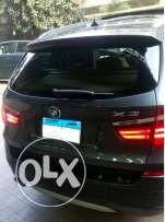 BMW X3 2013 gray 3000cc