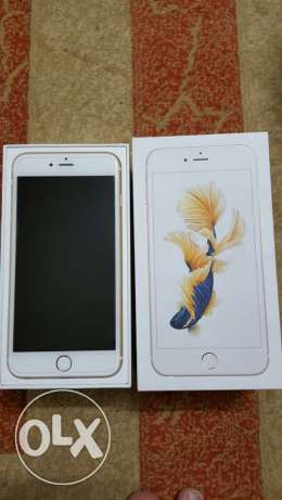 iPhone 6 s plus gold 64g