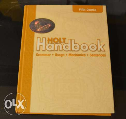 Holt Handbook: Student Edition Fifth Course 2003