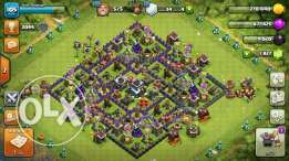 Clash of clans townhall lvl 9