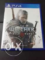 The witcher 3 ps4 like new