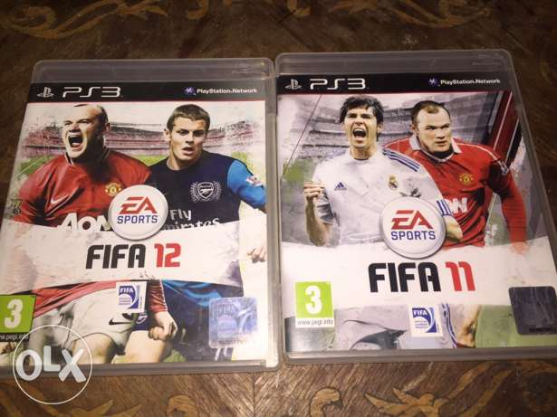 Playstation 3 fifa 11 and 12 CDs