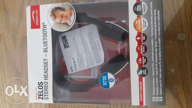 Zelos stereo headset from germany-bluetooth
