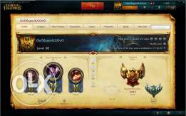 League of legends GOLD account