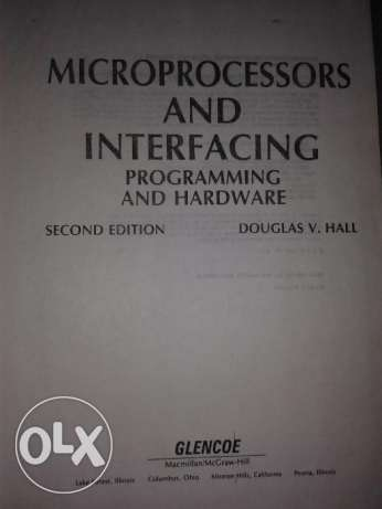 Microprocessors and interfacing programming and hardware