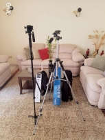 Tripod wt 6105 and monopod yunteng