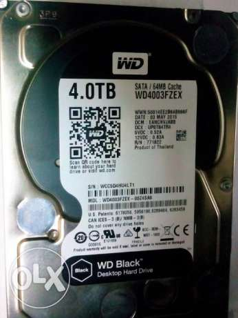 Western Digital Black WD4003FZEX 4TBهارد 4 تيرا بلاك