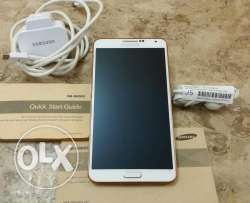 Galaxy note 3 4G 32GB n9005 كسر زيروو بيبرق