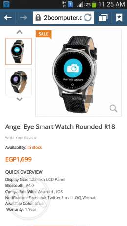 Smart Watch IOS or Android