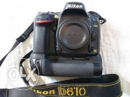Nikon D610 with box like new
