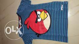 H&M Angry bird t-shirt size 2-4 years