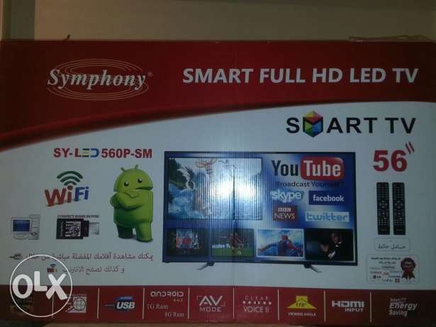 "56""FULL HD smart wifi"