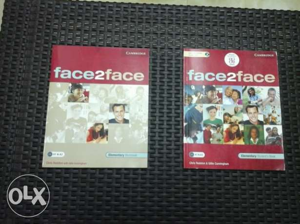 Elementary students and workbook level A1&A2