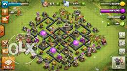 TH8 Max Clash of Clans