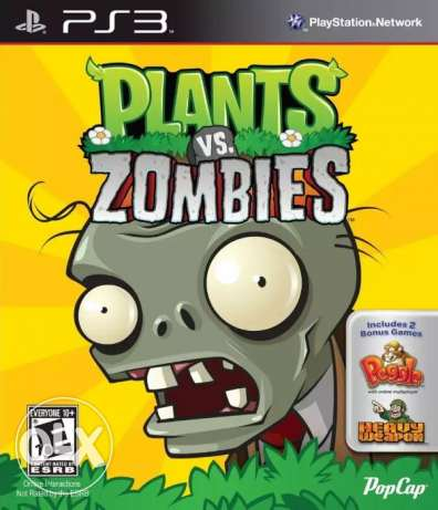 plants vs zombies ps3 ب2 لاعبين
