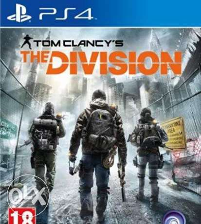 Tom clancy division ps4