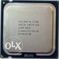 بروسيسور كورتوديو CPU intel E7300 2.6GHz/3M بالمروحة الأصلية