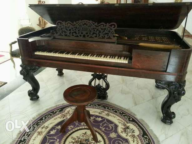 Steinway&Sons grand piano 1876..Only one in Egypt