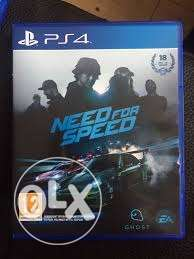 Cd Need For Speed ps4