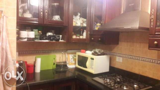 Al Rehab City Apartment With Garden For Rent Fully Furnished