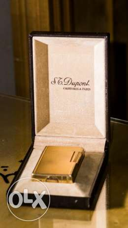 S.T Dupont lighter Original gold plated ligne1 مدينة نصر -  2