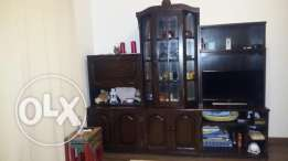 TV set / Living room library set / مكتبه