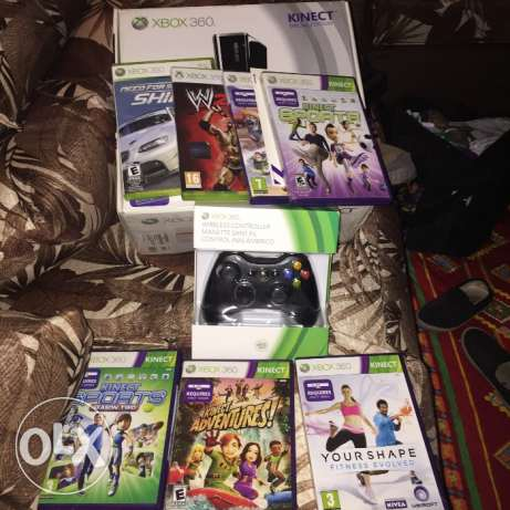 Xbox 360 +kinect new