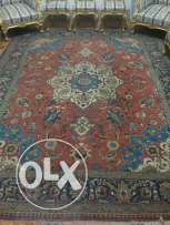 Old Persian Carpet handmade 2.5M X 3.5M