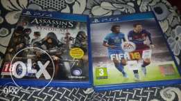 Assassins Creed Syndicate And fifa 16 Arabic edition