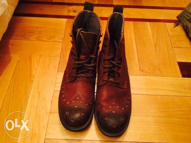 CAT classic brown boots