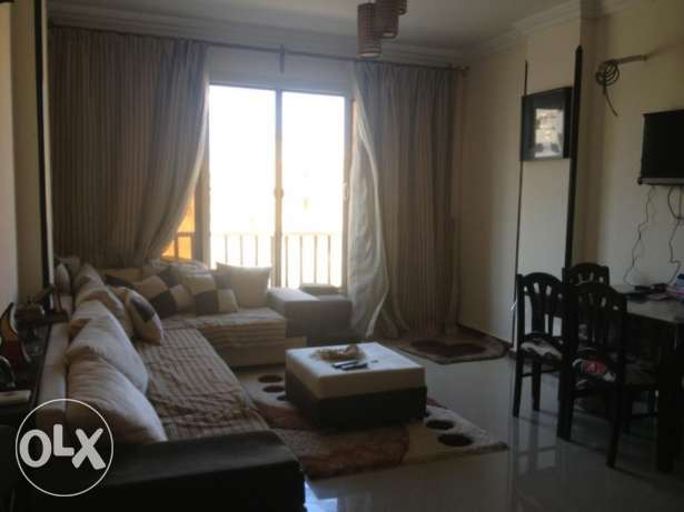 Flat in Inter-tal area, near Mamsha, with a sw. pool, 110m, 2 bedr الغردقة -  1