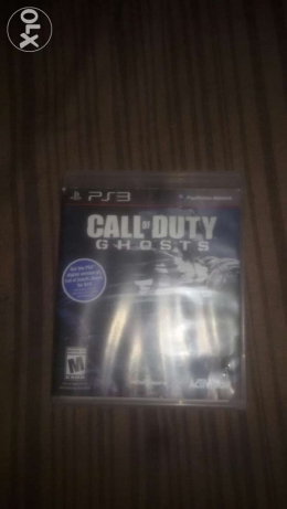 اسطوانة call of Duty ghosts