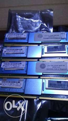 للبيع رامات workstation micron ddr2 5300f 8Gb ecc