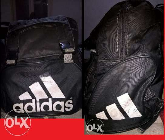 Adidas gym backpack bag original شنطة مدرسة ظهر اديداس