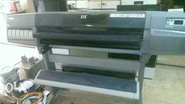 Hp Plotter design jet 5500