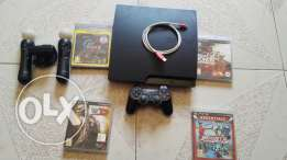 Playstation3+playstation move+3cd
