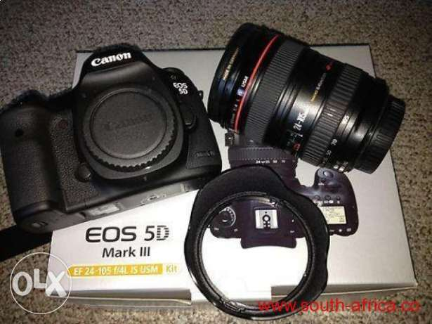 Canon EOS 5D Mark III 22.3 MP Full Frame CMOS Digital SLR Camera with مصر الجديدة -  1