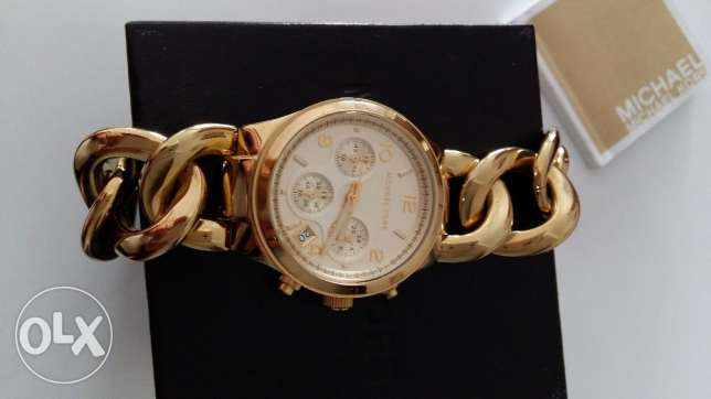 Michael Kors original watch 3131 , Gold tone
