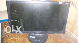 "شاشة كمبيوتر LCD LCD 20"" ACER USED multimedia"