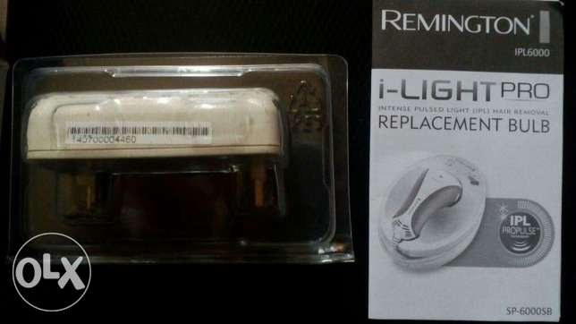 Remington iLIGHT Pro Hair Removal System- iPl 6000 Cartridge