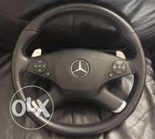 Mercedes steering wheel