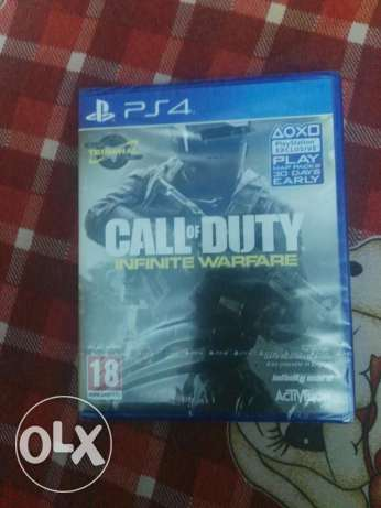 Call of duty infinite warfare sealed arabic standard edition ps4