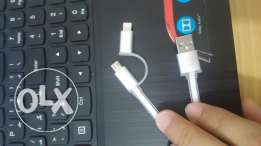 Cable usb for i phone and Samsung