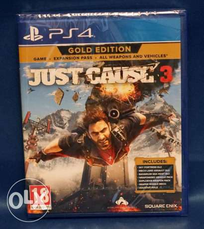 Just Cause 3 Gold Edition Ps4 New