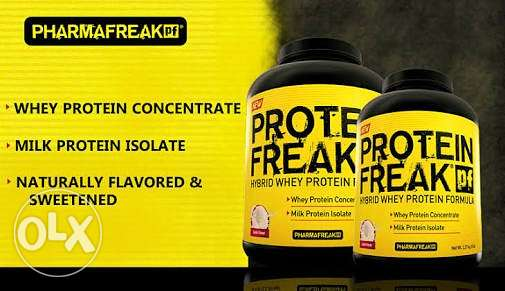 Protein freak & lipo 6 sealed متبرشمين متفتحوش