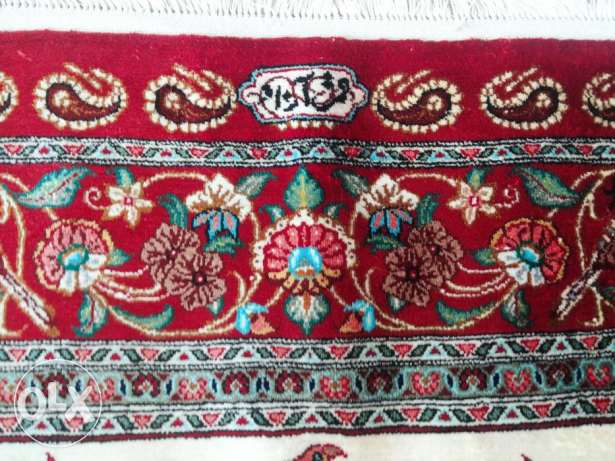 "*** Pure silk, hand made Persian carpet,""qum"" brand new ***"