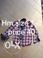 hm size 7-8 years