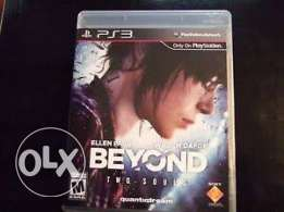 Beyond two souls new CD ps3