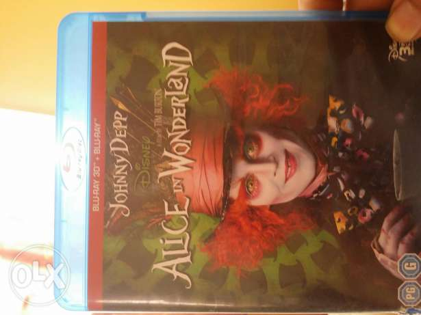 فلم alice in wonderland 3D وكمان full HD