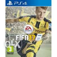 Fifa 17 Ps4 Sealed جديدا بالبرشام